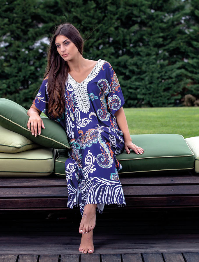 4cdba59823de Outwear Φόρεμα Καφτάνι - Claire Katrania - Μεγάλα Μεγέθη    Pavlina ...