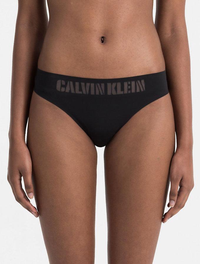 Slip Bikini Χωρίς Ραφές MAΥΡΟ - Calvin Klein - Mini    Pavlina ... ddfebb1e0f9