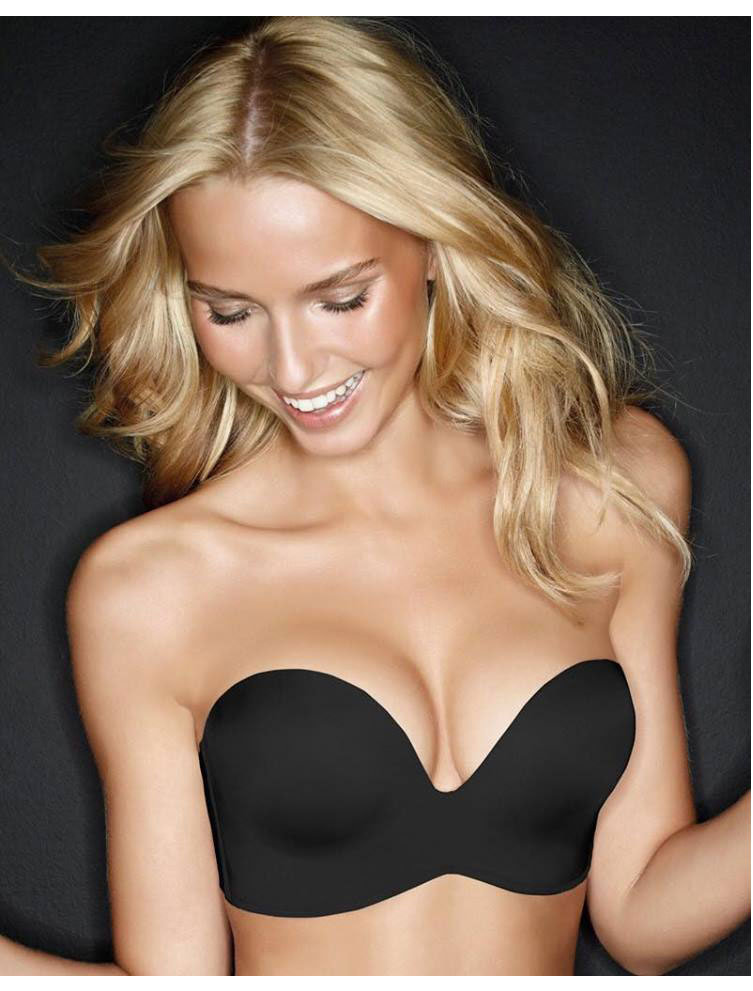 d0ddaaefad0 Σουτιέν Perfect Strapless Push-Up CUP-D Μαύρο - Lovable - Με ...