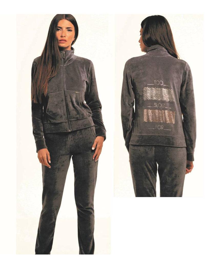 Σετ Φόρμα Από Βελούδο 80% Cotton - Zen - Σετ    Pavlina Underwear ... 21e55843c16