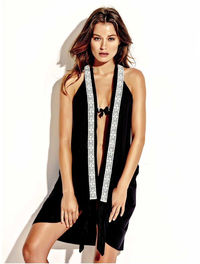 edeeac39ede2 Beachwear Φόρεμα Beach Dress MAΥΡΟ - Lida - Φορέματα Θαλάσσης ...