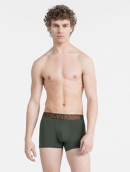 Boxer Trunk Shorty Cotton Χακί