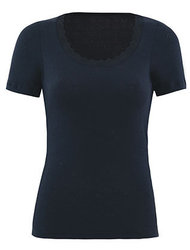 Woman Thermal T-Shirt Μαύρο
