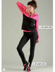 MELISSA BROWN GYMWEAR COLANE FRANCE MAΥΡΟ