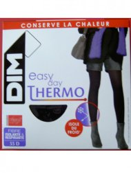 Καλσόν Easy Day Thermo 54 Den France Μαύρο