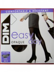 Καλσόν 40 Den Easy Day Opaque France Μαύρο